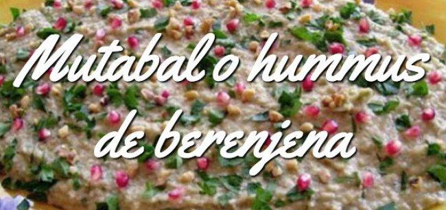 Mutabal (humus de berenjena)