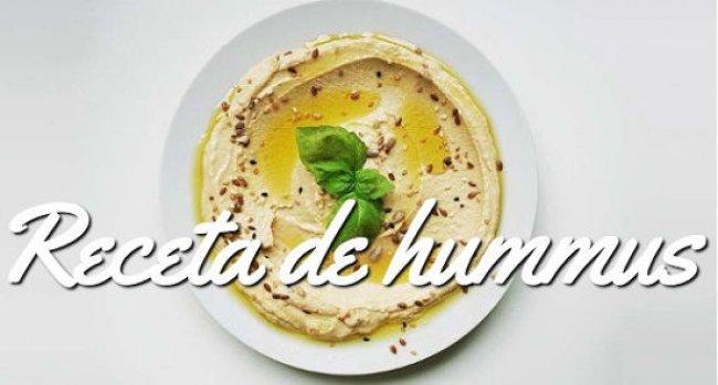 Receta de hummus tradicional